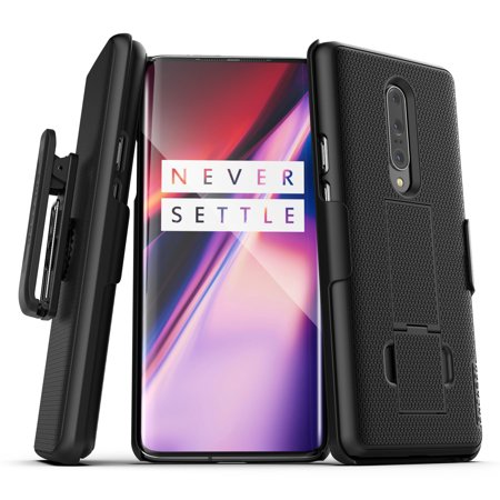 Encased OnePlus 7 Pro Belt Clip Case (2019 DuraClip) Slim Grip Cover w/ Holster (Best Cover For Nexus 7 2019)