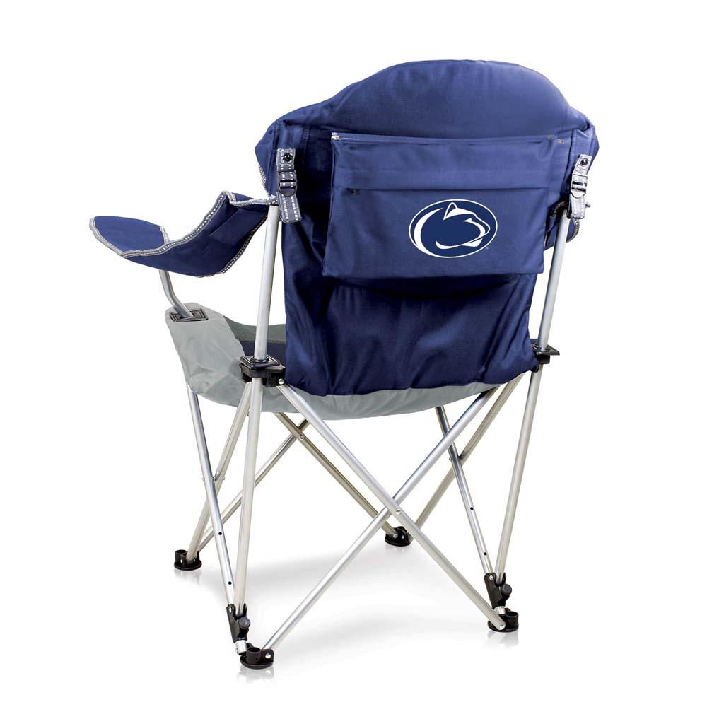 Penn State Reclining Camp Chair (Navy)