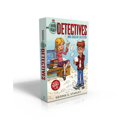 The Third-Grade Detectives Mind-Boggling Collection : The Clue of the Left-Handed Envelope; The Puzzle of the Pretty Pink Handkerchief; The Mystery of the Hairy Tomatoes; The Cobweb Confession; The Riddle of the Stolen Sand; The Secret of the Green Skin - Hairy Feet