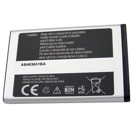 Battery for J1 Samsung m340 Mantra t739 Katalyst m540 Rant m550 AB463651BA T739 Katalyst Cell