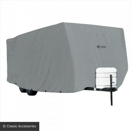 Classic Accessories 178181001 Rv Polypro 1 Travel Trailer Cover   27   30 Ft