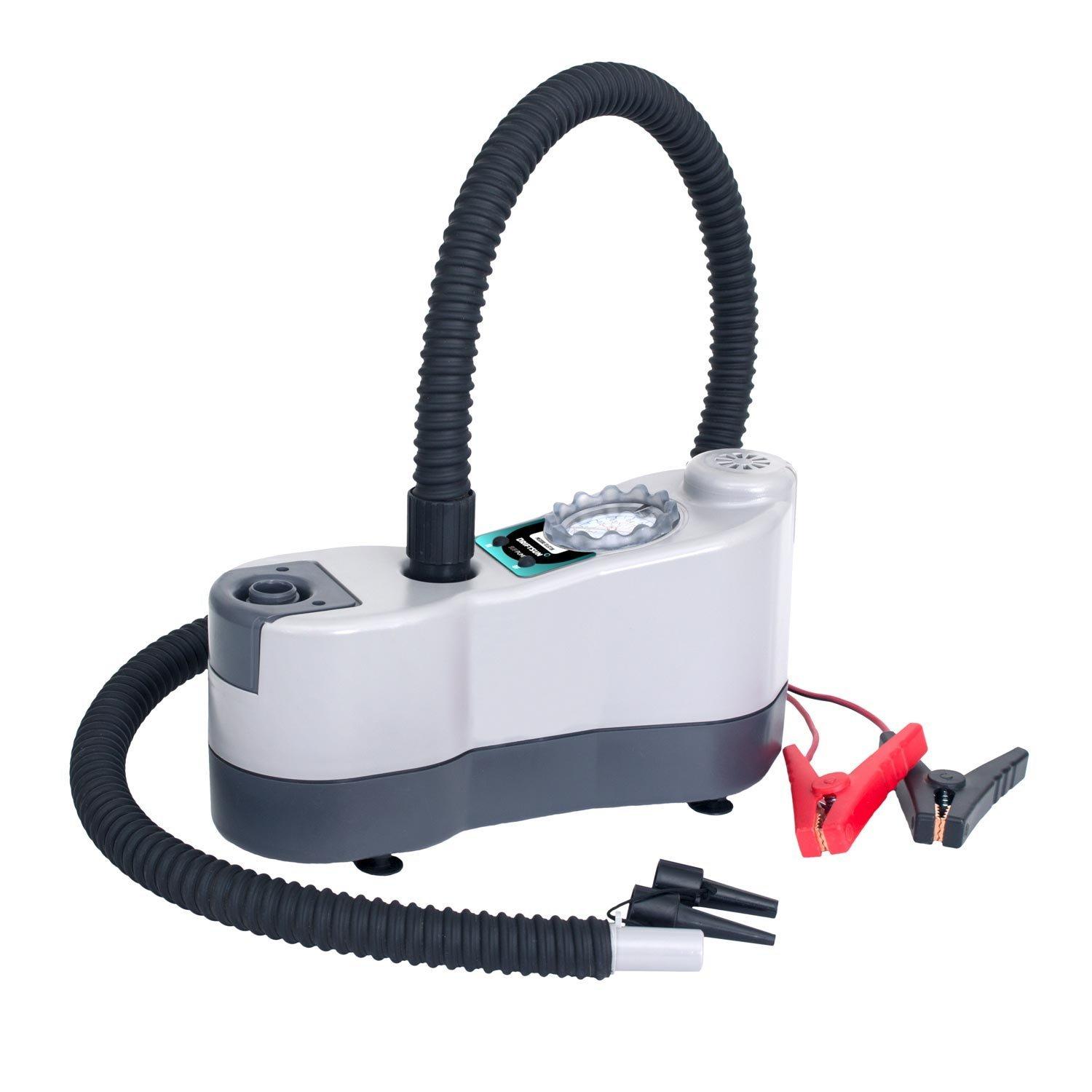 Driftsun High Pressure / High Volume Dual Stage Bravo Electric Pump for Inflatable SUPs, Kayaks, Towable's, Docks, and More