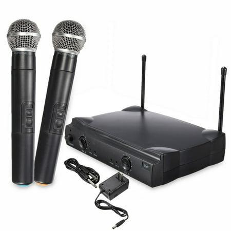Dual Professional Wireless Microphone Cordless Handheld Mic Kareoke KTV Party DJ Equipment - image 7 of 13