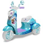 Disney Frozen 3-Wheel Scooter 6-Volt Battery-Powered Ride-On