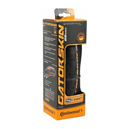 Continental Gatorskin Folding Tire 700x25c Black Road Puncture Resist Fixed