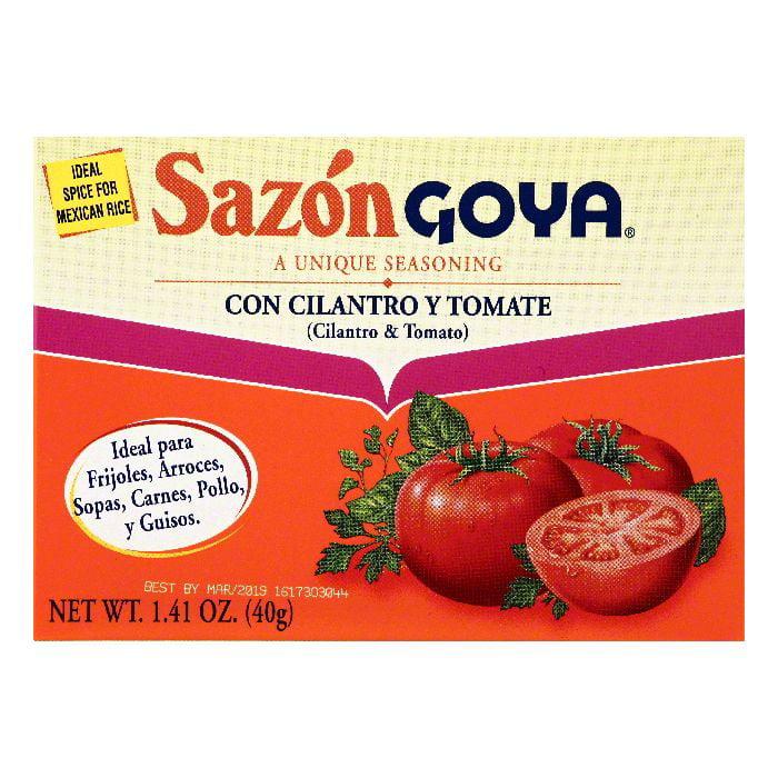 Goya Cilantro & Tomato Seasoning, 1.41 OZ (Pack of 36) by