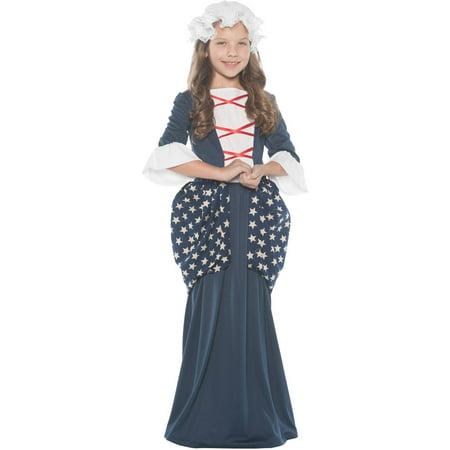 Betsy RossᅡᅠGirls Child Halloween (Betsy Ross Children's Costume)