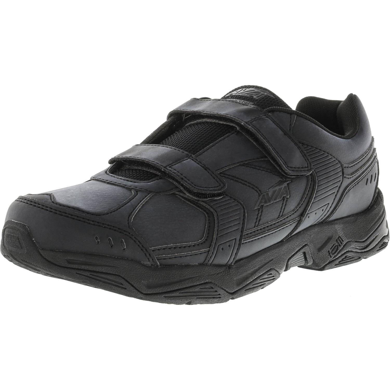 Avia Men's Avi-Tangent Chrome Silver   Black Ankle-High Running Shoe 8M by Avia