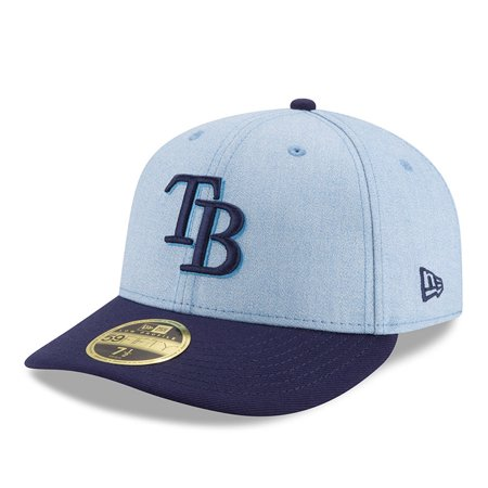 Tampa Bay Rays New Era 2018 Father's Day On Field Low Profile 59FIFTY Fitted Hat - Light