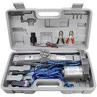 1 Ton ELECTRIC SCISSOR 12V Auto Car Jack Lift - 2200lb-
