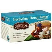 Celestial Seasonings Sleepytime Throat Tamer Wellness Tea, 20ct (Pack of 6)