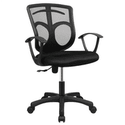 Yaheetech Adjustable Mid-back Mesh Office Chair Rolling