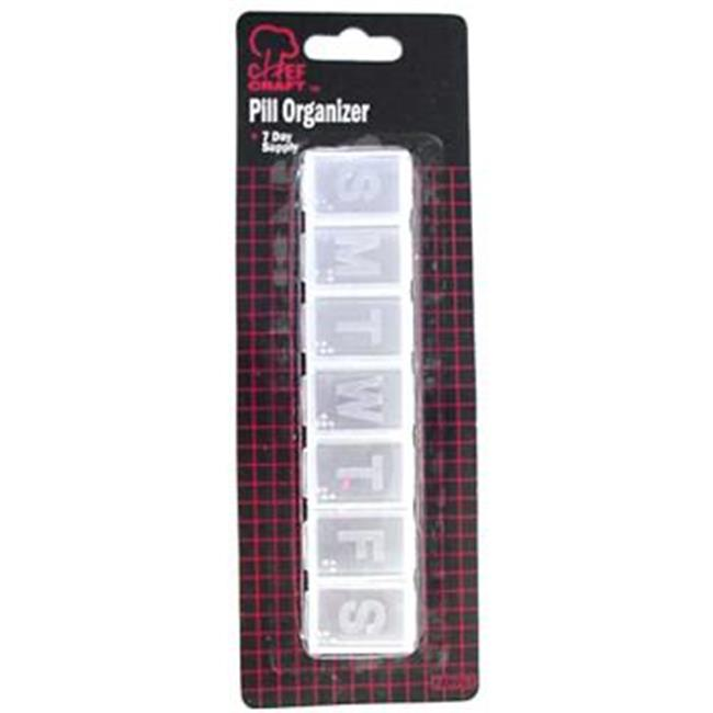 Bulk Buys 7 Day Pill Organizer - Case of 48