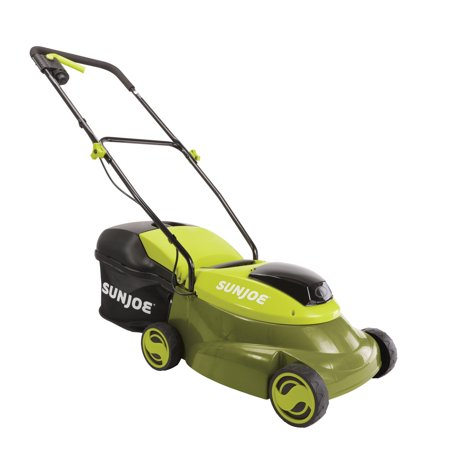 Sun Joe MJ24C-14-XR Cordless Lawn Mower with Brushless Motor | 24-Volt | 5-Amp | 14-Inch