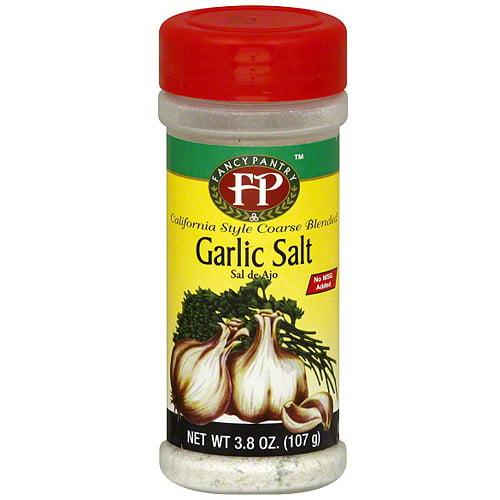 Fancy Pantry Garlic Salt, 3.8 oz (Pack of 12)