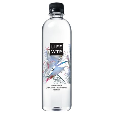 LIFEWTR, Premium Purified Water, pH Balanced with Electrolytes For Taste, 500 ml bottles (Pack of 12) (Packaging May Vary)