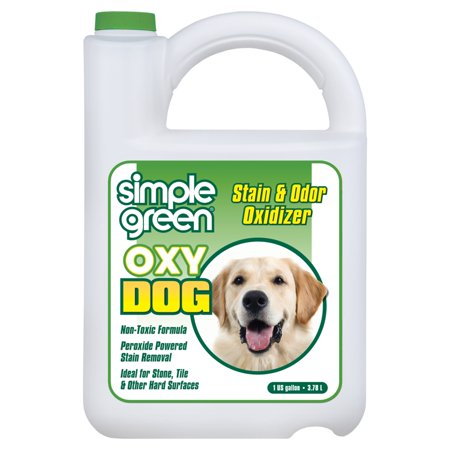 - Simple Green 1 gal. Oxy Dog Pet Stain and Odor Oxidizer