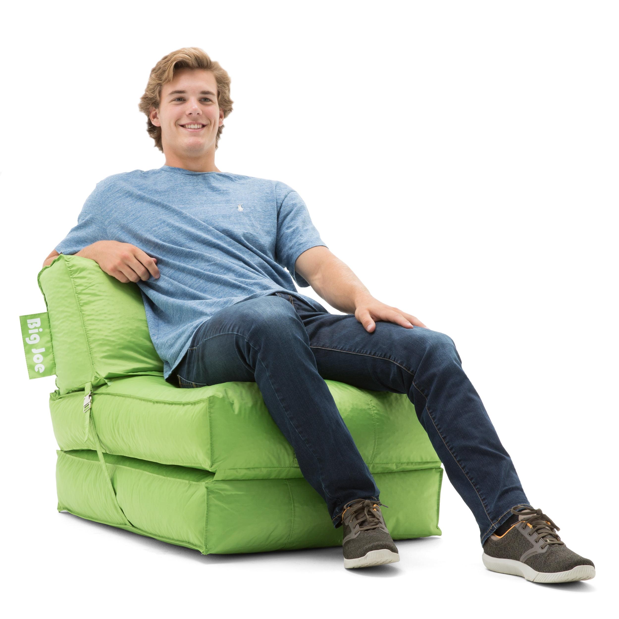 big joe flip lounger bean bag chair walmart com