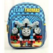 "Mini Backpack - Thomas the Tank - Blue w/Friends 10"" Bag New 850040"