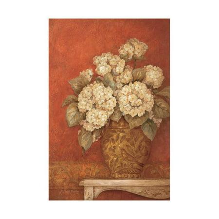 Gladding Villa - Villa Flora Hydrangea Print Wall Art By Pamela Gladding