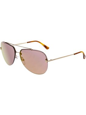 4b53cee90682 Product Image Tom Ford Men s FT0584-28Z-63 Gold Aviator Sunglasses