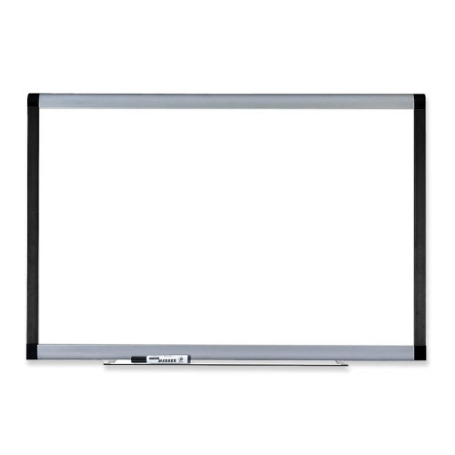 Lorell Wall Mounted Magnetic 4' H x 6' W Whiteboard by Lorell
