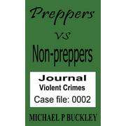 Prepper vs non-prepper journal 2 - eBook