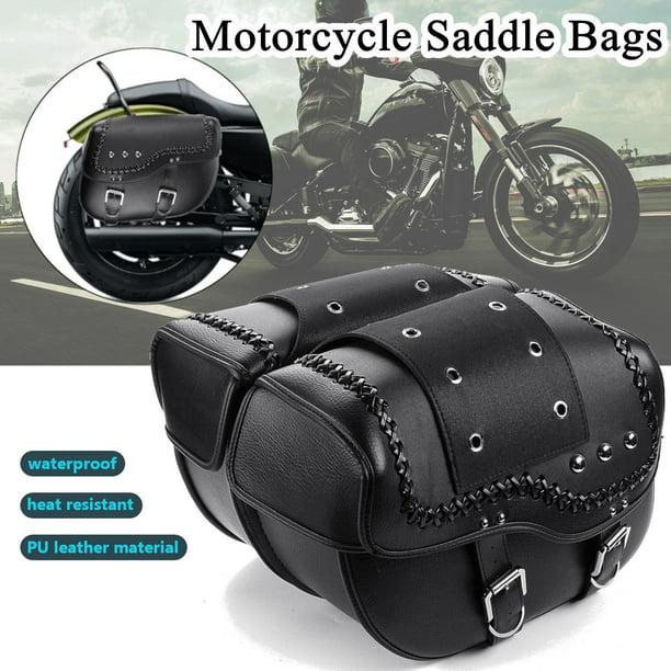 Heavy Duty Motorcycle Iron Hard Saddle Bags Mounting Kit Fit For Honda Suzuki