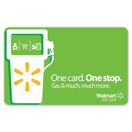 Gas & Pump Walmart Gift Card