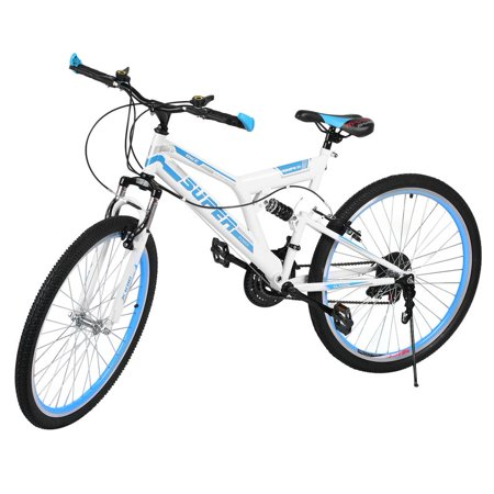 NEW 26 Inch 21 Speed Front And Rear Shock Proof Bicycle V Brake ...
