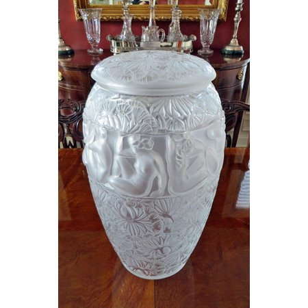LAMINATED POSTER Vintage Art Glass Vase Lalique Crystal Glass Poster Print 24 x 36 (Lalique Glass)