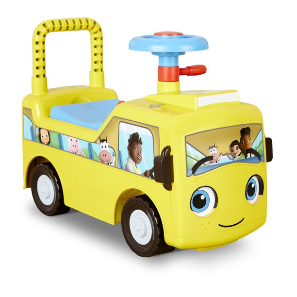 Little Baby Bum Wheels on the Bus Scoot and Push Ride On by Little Tikes