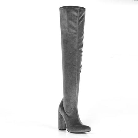3/4 Knee High Boots (Fahrenheit Over knee Women's High Heel Boots )