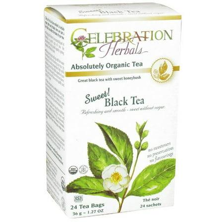 Celebration Herbals Doux Thé noir bio, 24 Ct