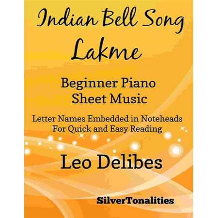 Indian Bell Song Lakme Beginner Piano Sheet Music - eBook](This Is Halloween Song Sheet Music)
