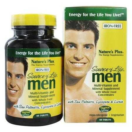 Nature's Plus - source de vie multi-vitamine hommes - 60 comprimés