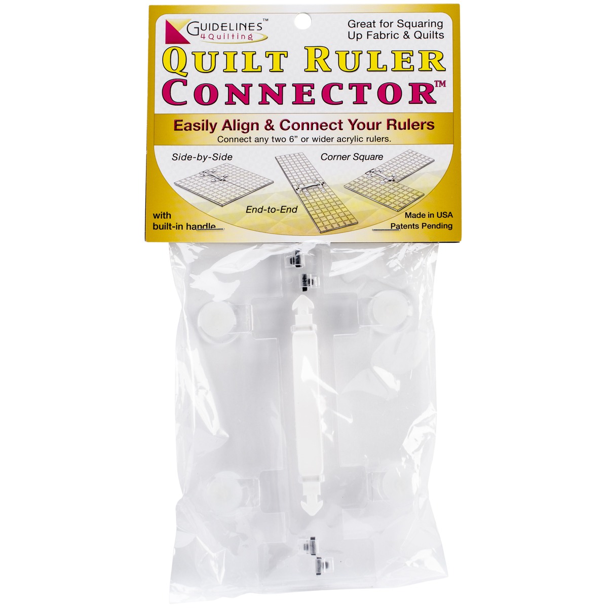 Guidelines4quilting Quilt Ruler Connector - - image 1 de 1