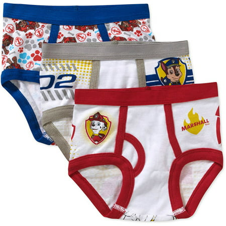 Paw Patrol Toddler Boys Underwear, 3 Pack