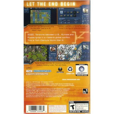 Tom Clancy's Endwar for PSP