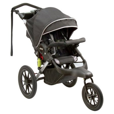 jeep adventure jogging stroller black. Black Bedroom Furniture Sets. Home Design Ideas
