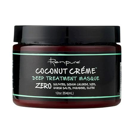 Renpure Coconut Creme Deep Treatment Hair Masque, 12 Oz