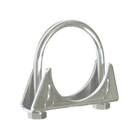 2 5in Exhaust Clamp, Automotive Stainless Steel Pipe Clamps Heavy Duty  (Sold by Case, Pack of 6)