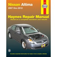 Nissan Altima (07-12) Haynes Repair Manual (Does not include information specific to hybrid models)