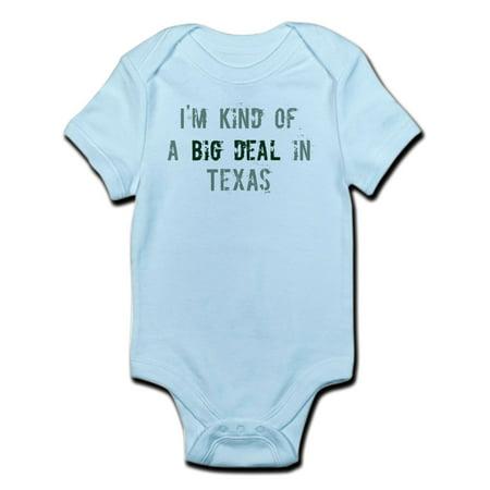 CafePress - Big Deal In Texas Infant Bodysuit - Baby Light Bodysuit