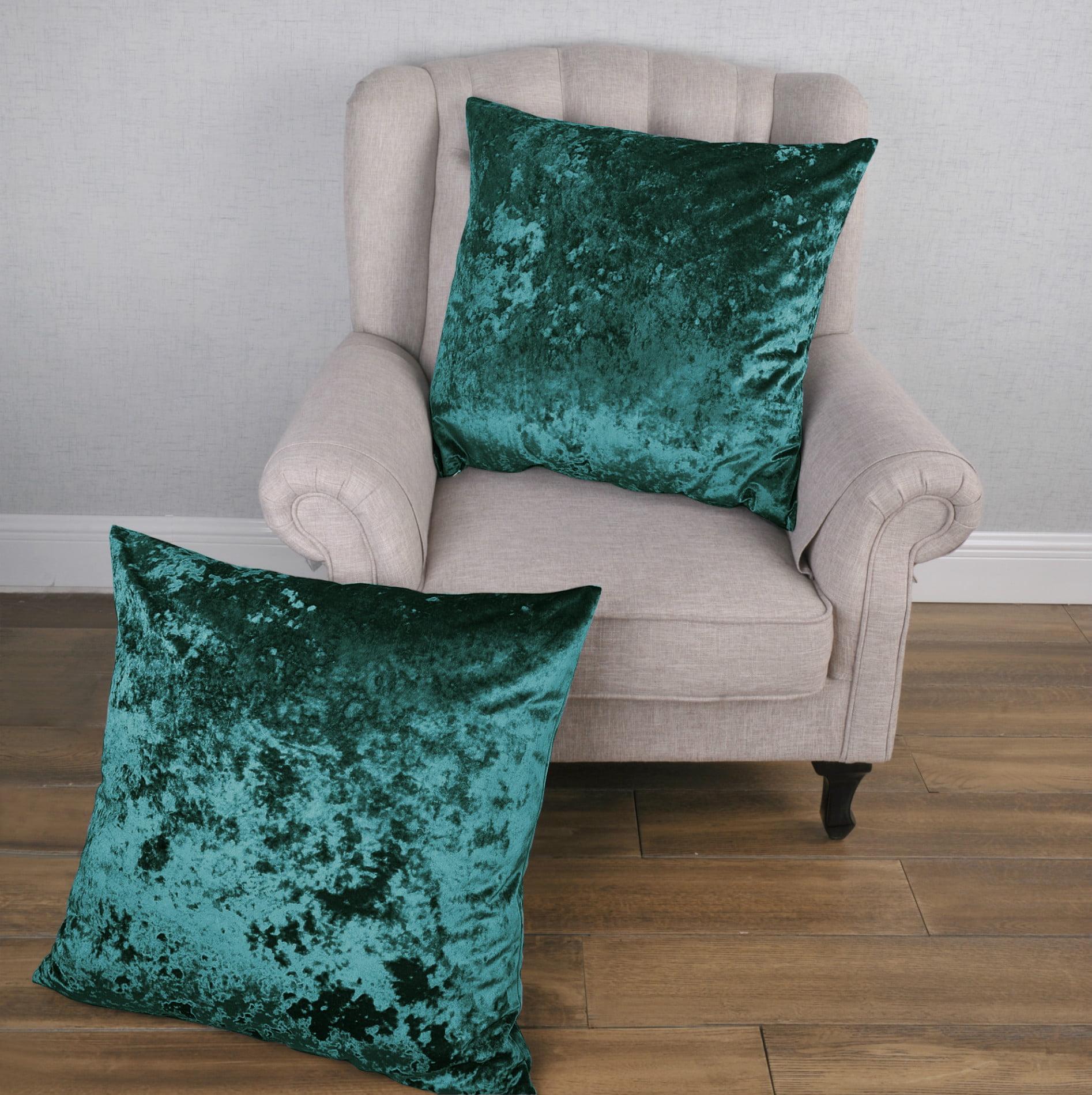 Serenta Crushed Velvet Pillow Shell Set