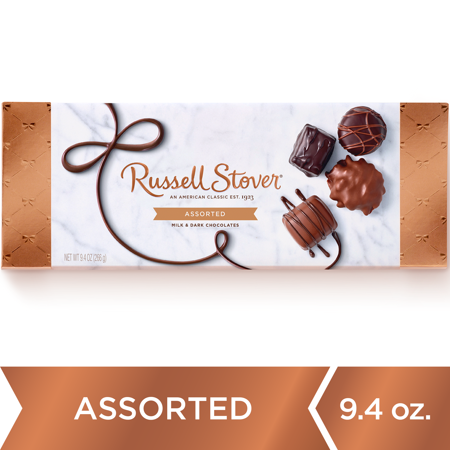 Russell Stover Assorted Milk and Dark Chocolates - 9.4oz