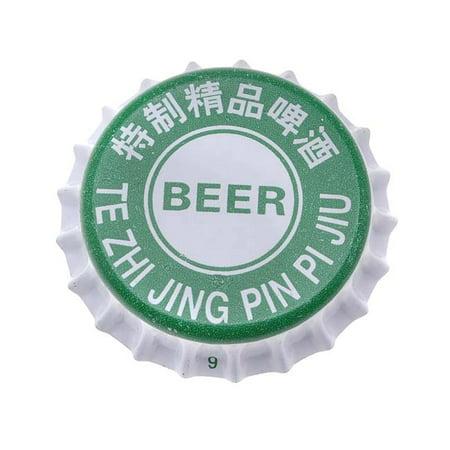 Printed Green White Crown Bottle Caps Craft Scrapbook No Liners (50) Scrapbooking Bottle Cap