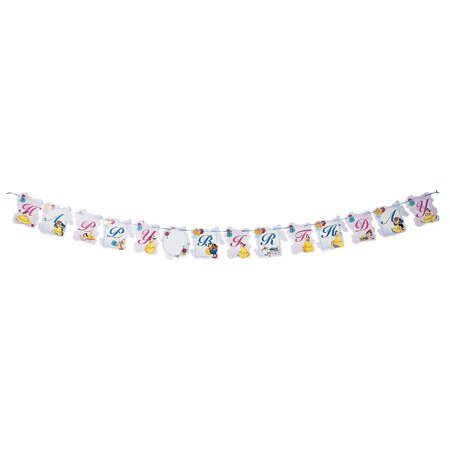 Fun Express - Beauty & The Beast Add An Age Banner for Birthday - Party Supplies - Licensed Tableware - Misc Licensed Tableware - Birthday - 1 Piece (Beast Boy Birthday)