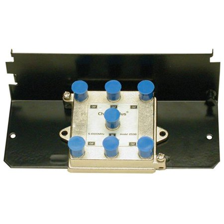 Vhf Uhf Splitter (5-1000 MHz 6 Way Passive Splitter for Modem VHF and)