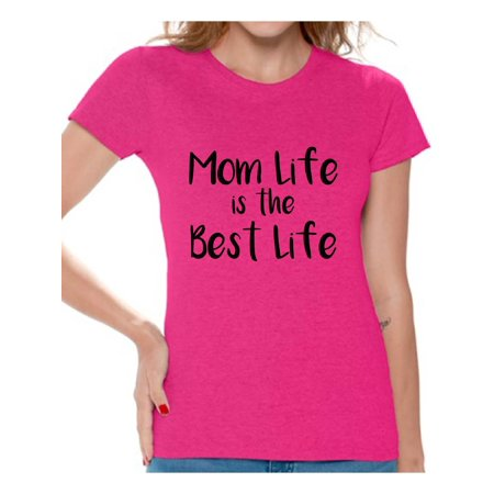 Awkward Styles Women's Mom Life Graphic T-shirt Tops The Best